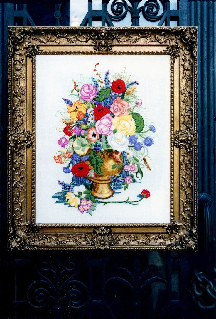 Quot floral concerto crewel embroidery kit soon to be