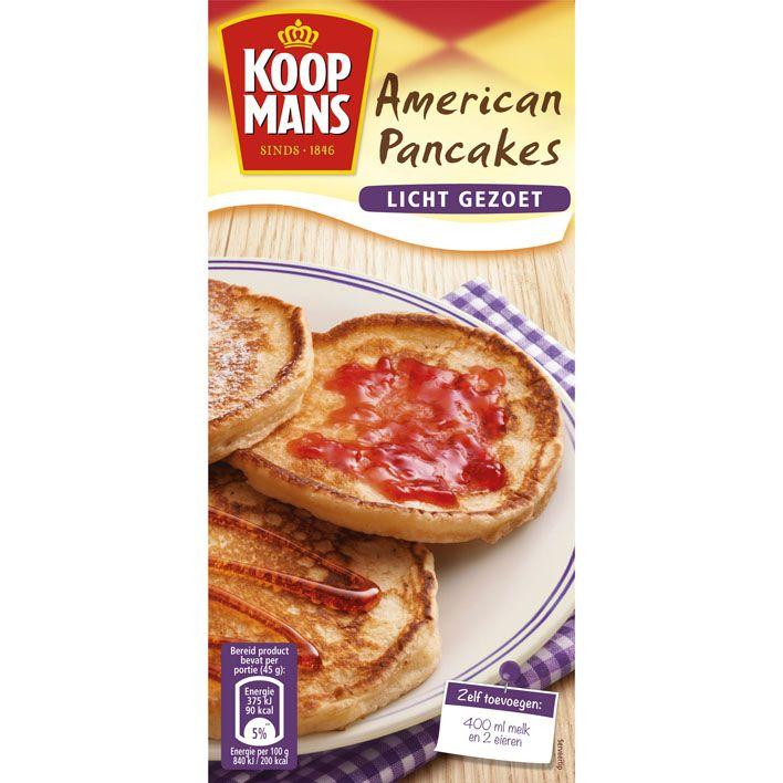 Mix voor Amerikaanse pancakes