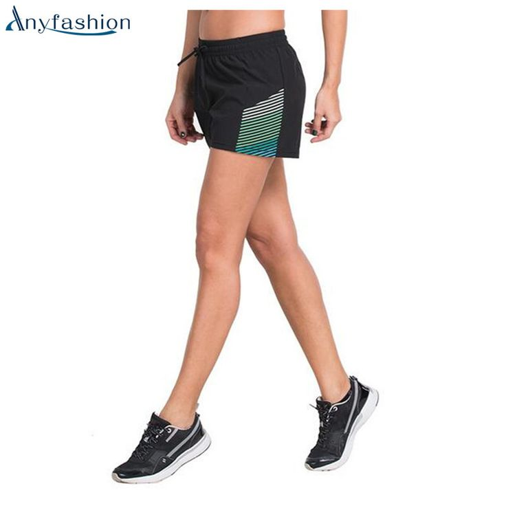 Anyfashion Womens Running Shorts Tights Short Women's Gym Cool Woman Sport Short Fitness Ladies Running Shorts Sportswear