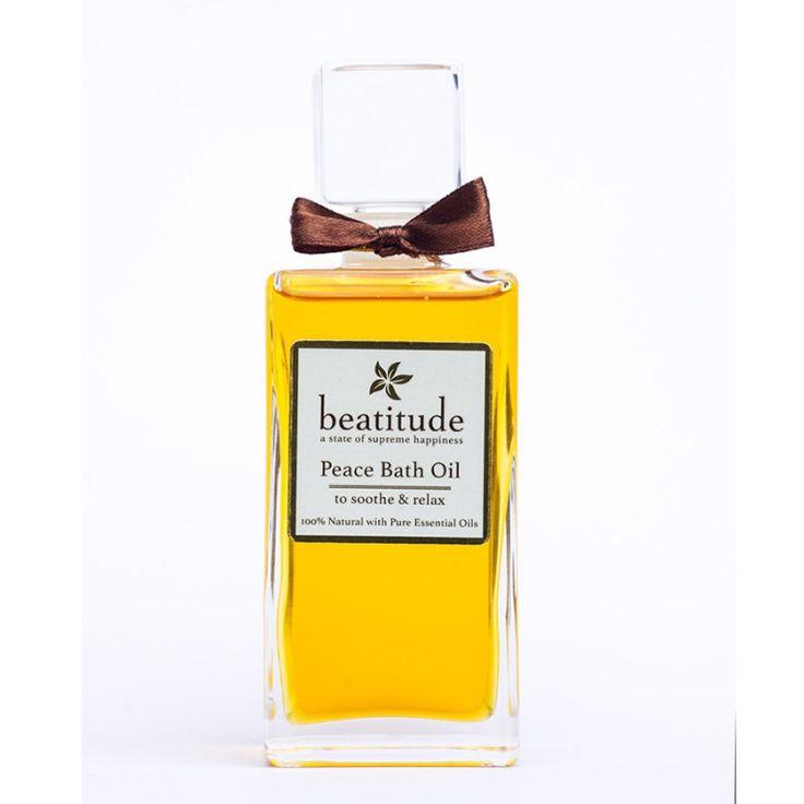 Beatitude - Peace Aromatherapy Bath Oil 100ml, £39