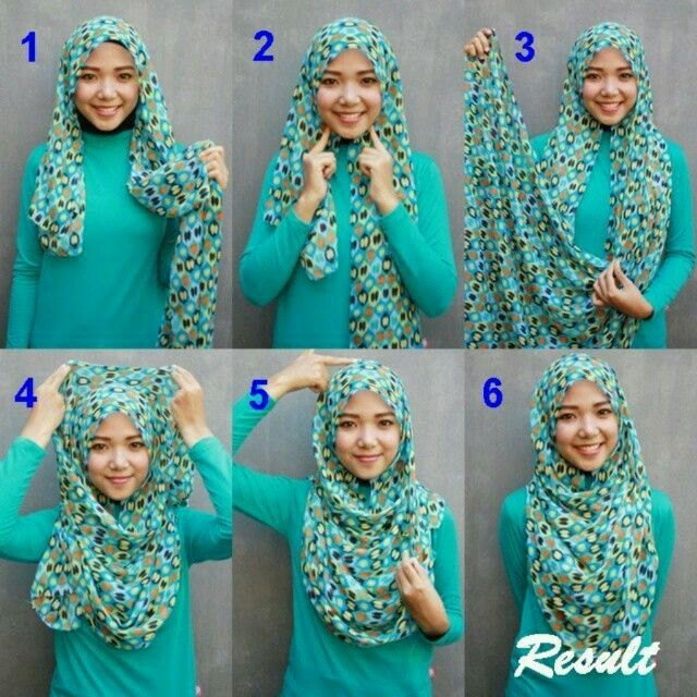 Pin by Margaretha T. Mulyanti on Hijab Tutorial | Pinterest | Hijabs