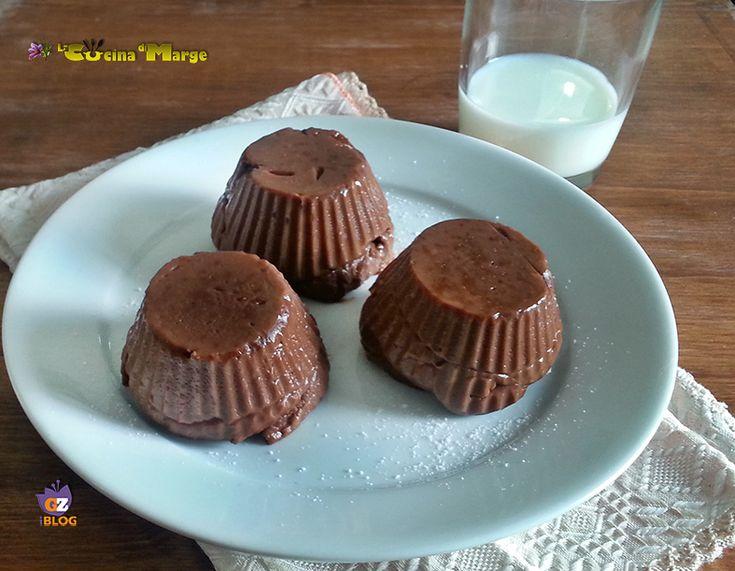 BUDINO ALLA NUTELLA ,una ricetta golosa un dessert fantastico ,occorrono pochi e semplici ingredienti come amido di mais,nutella, latte ........Oggi ...
