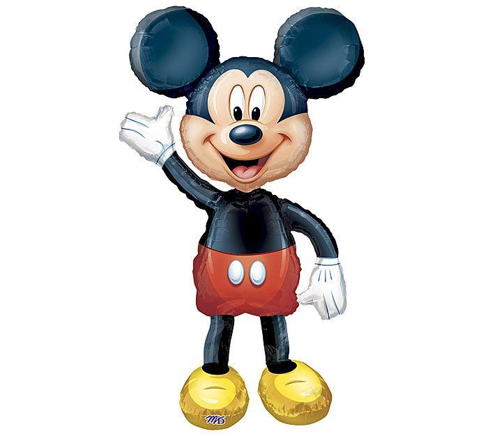 Invite the Mickey Mouse AirWalkers® Balloon to your next party! #burtonandburton