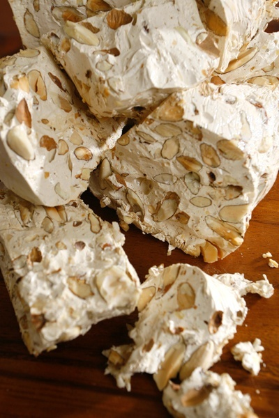 Torrone Italian Nougat Candy With Almonds Info Amp Recipe