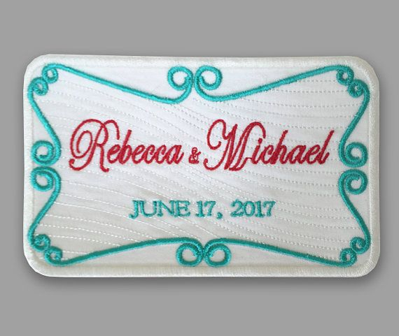 wedding label wedding patch madrina by EmbroideryCollection