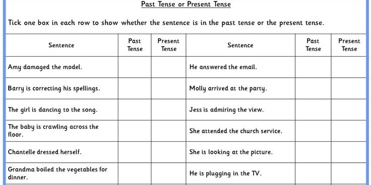 Three differentiated tense activities to practise question types from the Sample KS1 SPAG test (New Curriculum 2014).