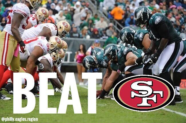 Lets go kick some ass against the winless 49ers team tomorrow that just got dismantled by Dallas last Sunday!!! - #beatsanfransisco #philly #philadelphia #eagles #phillyeagles #philadelphiaeagles #flyeaglesfly #FlyEaglesFly #win #almostgameday