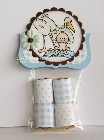 Kelly Baby Shower Party Favor by LaceyStephens - Cards and Paper Crafts at Splitcoaststampers
