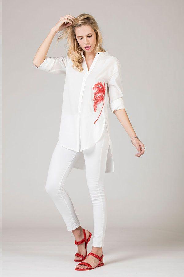 84605c14b8cd Camisas de moda para mujer primavera verano 2018 ropa de moda mujer.