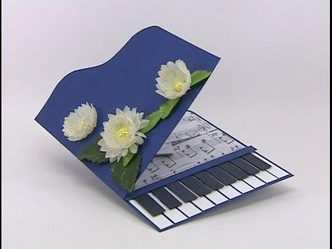 Для, подарок своими руками музыкальная открытка