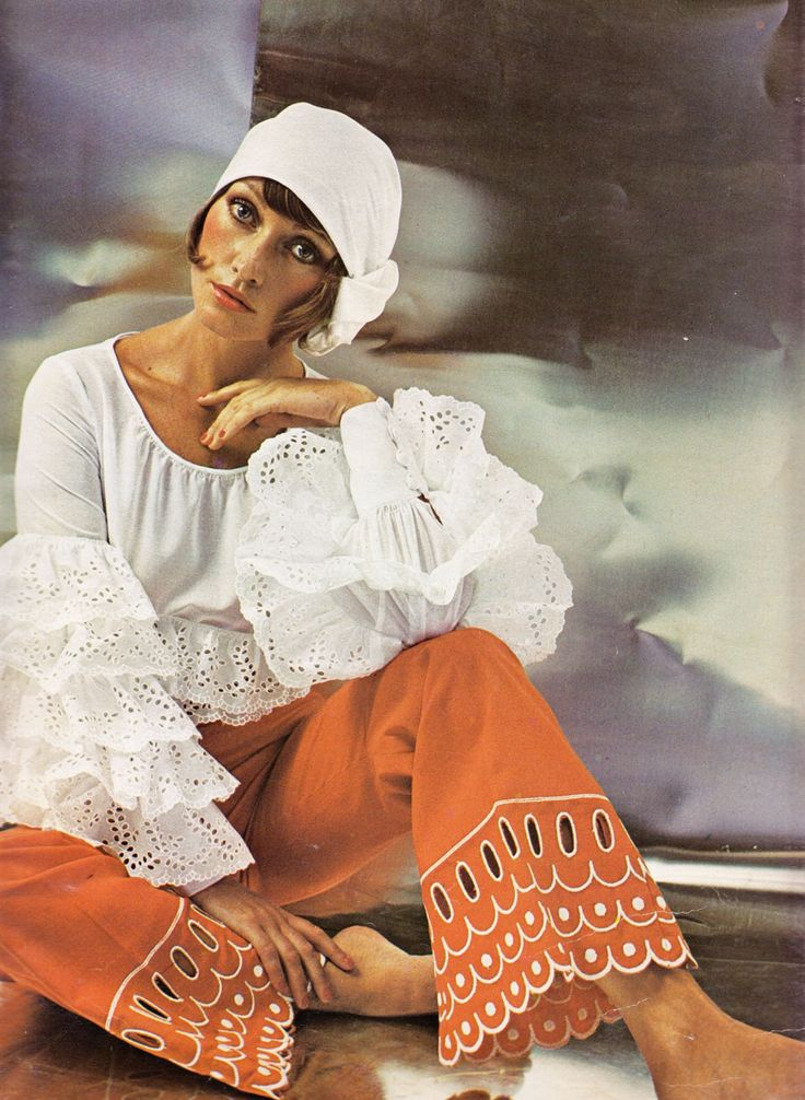 Pfennigs Elegance Magazine  ~ 1972 Spring Summer ~ Love this fab outfit.