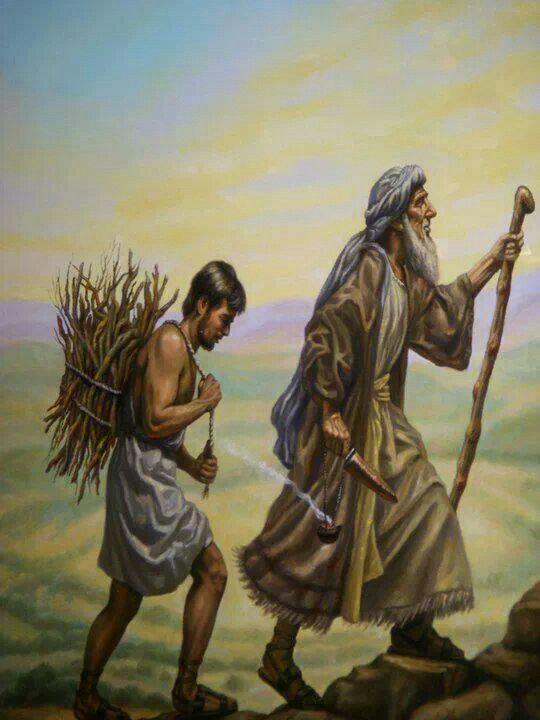 Abrahams binding of isaac in the genesis