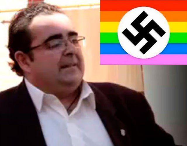 España: Un alcalde compara la bandera gay con la nazi