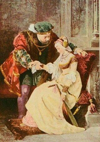 King Henry VIII and wife Jane Seymour