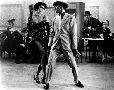 Fred Astaire makes the dance moves look easy even in a full suit. Do the same all night long!