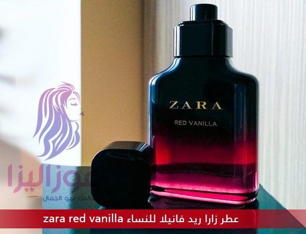 عطر زارا ريد فانيلا الاصلي للنساء Zara Red Vanilla Perfume Bottles Perfume Vanilla