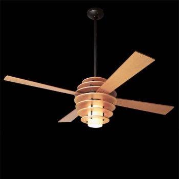 Stella Ceiling Fan & Modern Fan Company Stella Ceiling Fan | YLighting- love how it looks like a giant honey wand!