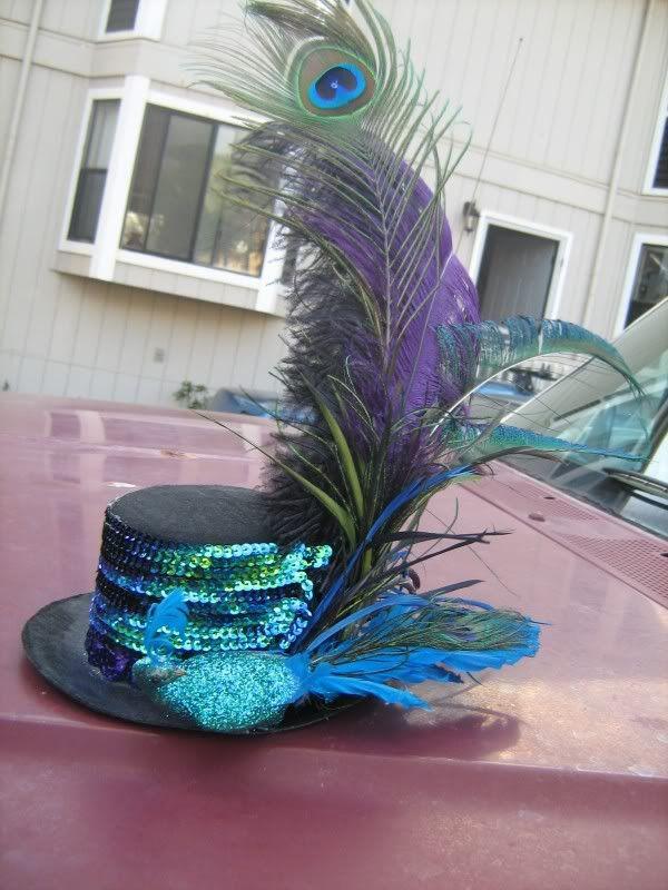 Burlesque Peacock Costume - CLOTHING