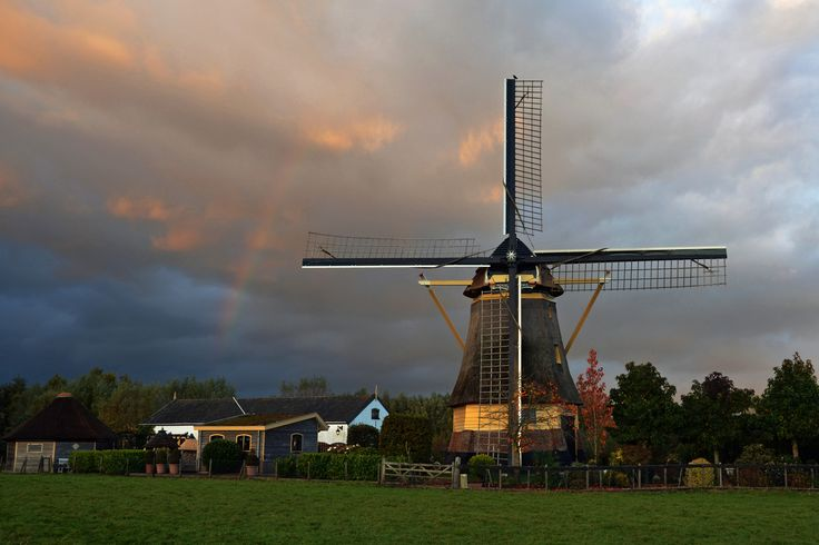 Wilnis Netherlands Windmill