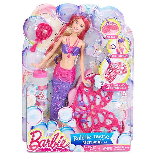 Barbie® Bubble-tastic Mermaid Doll | Target Australia