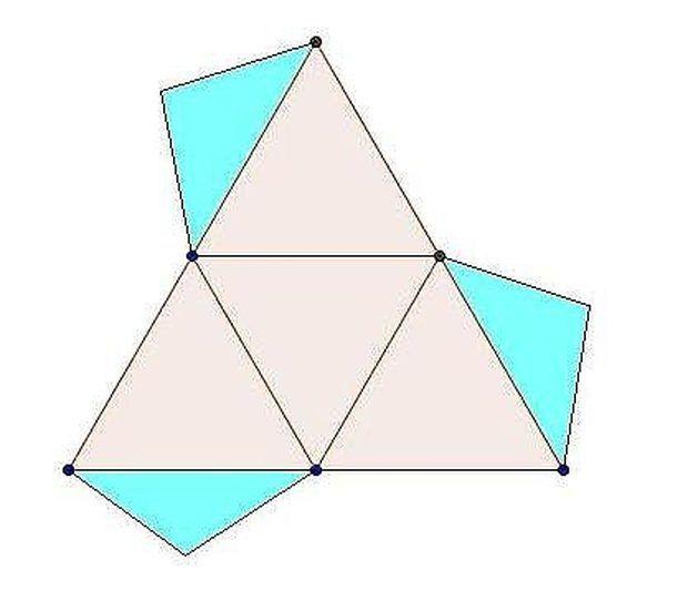 Cómo construir figuras geométricas sólidas: la pirámide