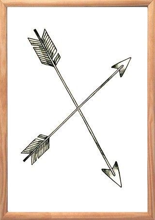Cuadro Flechas Cruzadas - comprar online