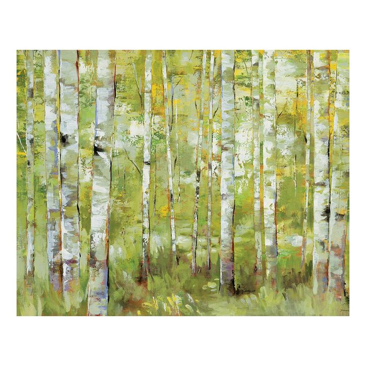 Essence Of Green Canvas Wall Art, Multicolor