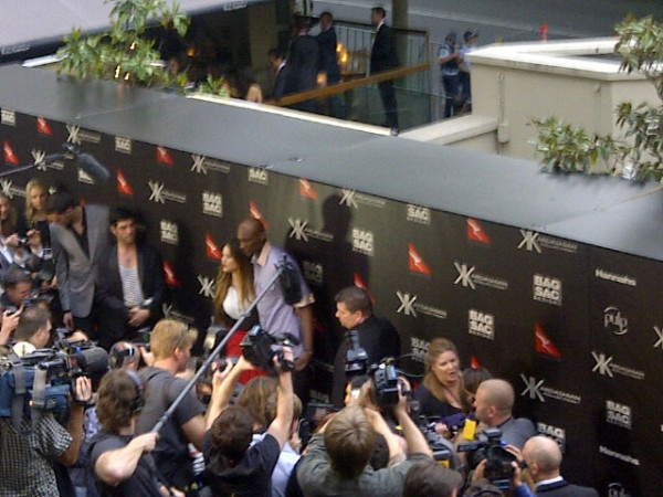 When the Kardashians were in Sydney!