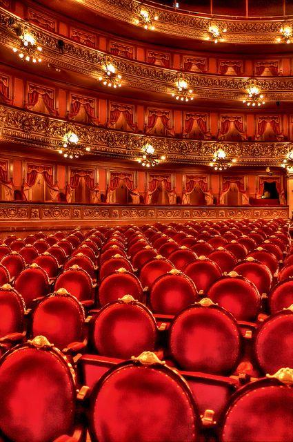 Teatro Colon - Buenos Aires - Argentina by Suemar Éverton, via Flickr    #warmcolors #yellow #orange #red