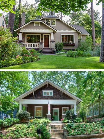 Earth Tone Bungalows For The Home Pinterest Bungalow Exterior And House Paintings