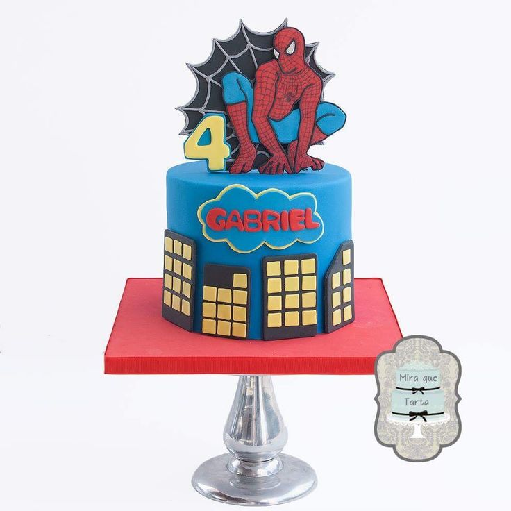Spiderman Cake Decorations Uk : 1000+ ideas about Cake Spiderman on Pinterest Spiderman ...