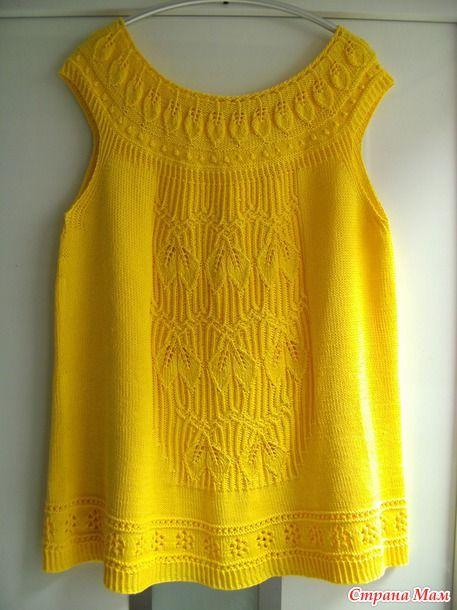 Платье\туника LAVINIA. Спицы.