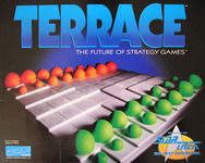 "The day I was shopping for my Terrace game, they had this colorful set and a black-and-white set in stock. I love color so much, it HAD to be this one! (Notice the Star Trek logo in the lower right corner. ""Featured on Star Trek: The Next Generation."")"