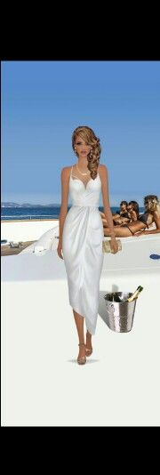 Champagne Yacht Sailing