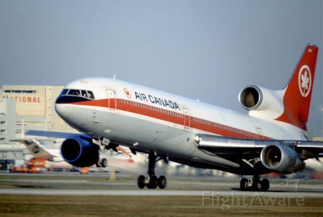 ACA Lockheed L-1011 TriStar the good old days at air canada