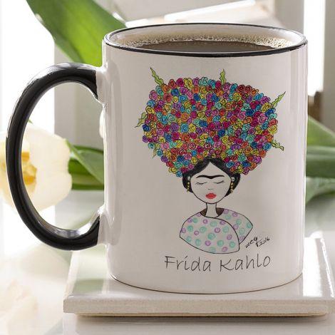 Frida Kahlo Baskılı Kupa Bardak