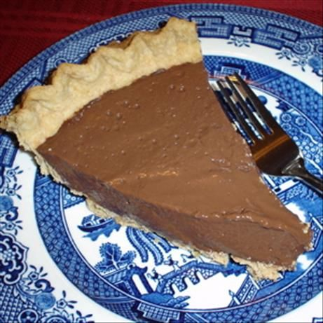 Stevia- Chocolate Cream pie... can alter the ingredients for Kaufmann diet. Arrowroot starch instead of corn starch and almond milk instead of milk