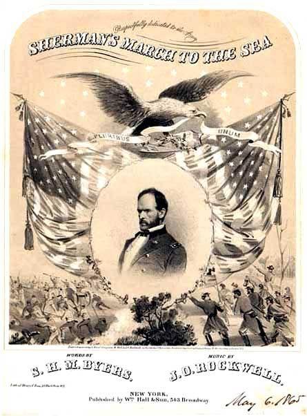 Sherman s march to the sea william tecumseh sherman pinterest