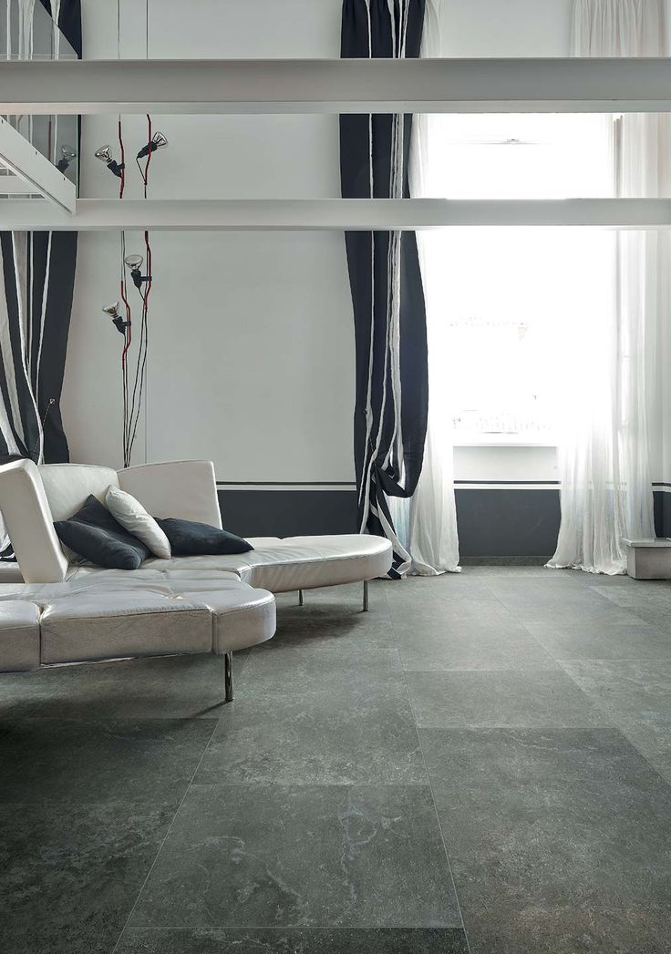 Living room with Pietre/3 by Casa dolce casa #pietre3 #casadolcecasa #living #geometric
