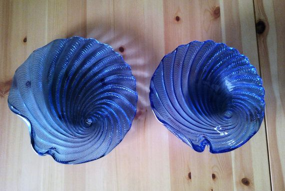 decorative glass platters by AnEllieCreations on Etsy