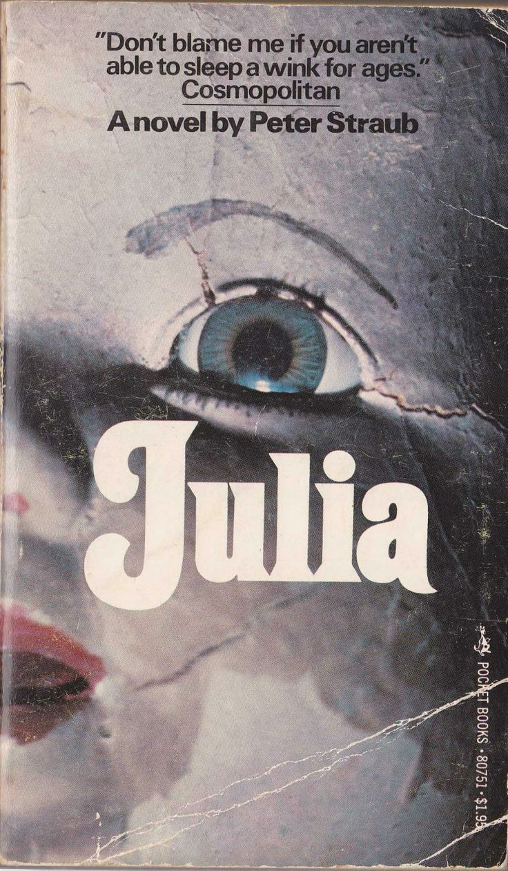 Too Much Horror Fiction: Julia by Peter Straub (1975)