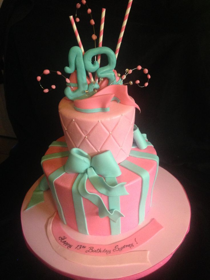Cake Ideas For A 13th Birthday Party : 88 best images about Birthday Cake on Pinterest 13th ...