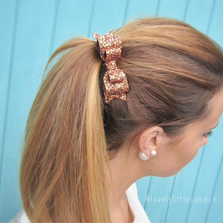 Girl and adult Bronze gold glitter fabric double bow hair clip - so Sparkly!!! Can be made in any colour!! by LovelyLittlesandCo on Etsy https://www.etsy.com/listing/216351969/girl-and-adult-bronze-gold-glitter
