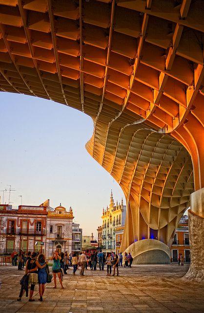 Metropol Parasol. Plaza de la Encarnación, Sevilla, Spain. J. MAYER H. ARCHITECTS, ARU
