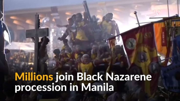 Millions join Black Nazarene procession in the Philippines