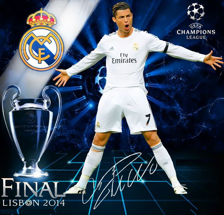 Real Madrid Logo Wallpaper Hd: Cristiano-Ronaldo-Real-Madrid-Finale-2014
