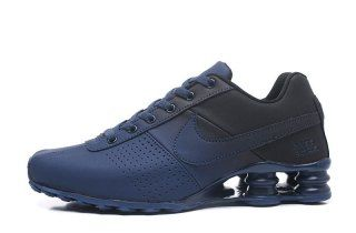 new arrival 463b6 dc95e Nike Shox Deliver Navy Blue Black Mens Running Shoes | Hiking shoes ...