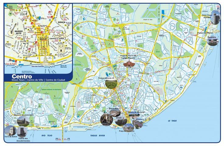 Cartes de Lisbonne | VisiterLisbonne.com