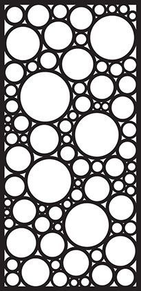 URBAN DESIGN SYSTEMS - LASER CUT METAL SCREENS - ABSTRACT- Decorative Laser Cut Screens