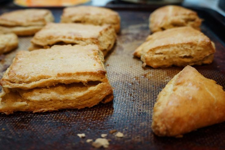 Biscuit dough spiked with flavorful beer cheese makes for a great comfort-food pairing